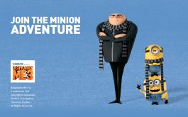 Join the Minion Adventure   Despicable Me 3