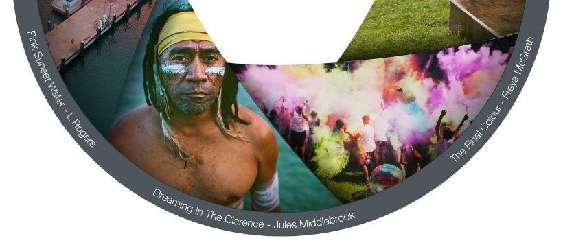 indigenous elder staring into the camera