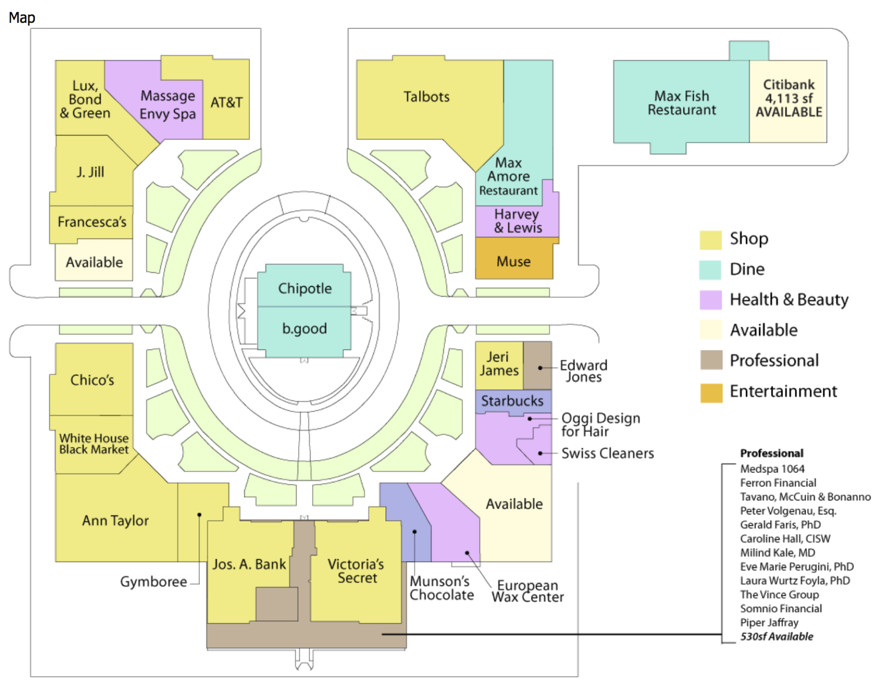 Chesterfield Towne Center Map Center Map | The Shops at Somerset Square Chesterfield Towne Center Map